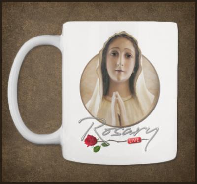 Rosary LIVE MUG (St. Joseph Discount)